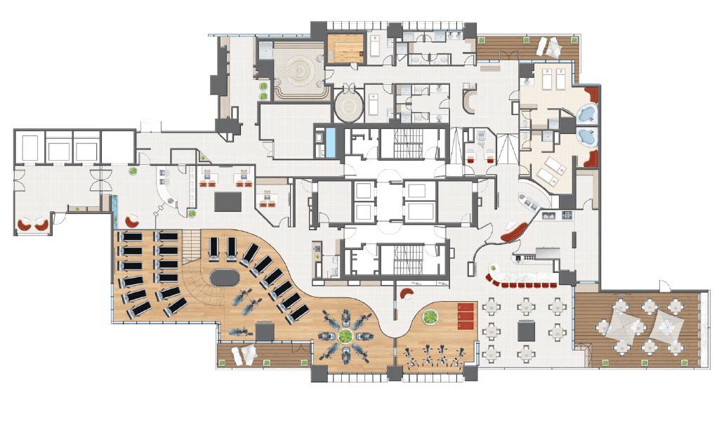 grundplan af huset